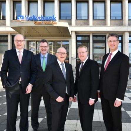 Bilanzpressekonferenz 2019 Volksbank Kassel Göttingen–der Vorstand